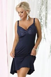 Ženska spalna srajčka Gina Navy blue
