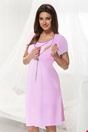 Camasa de noapte Dorota roz, sarcina si alaptare