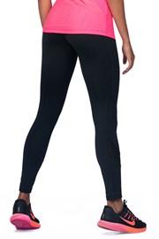 Női sport leggings, fekete
