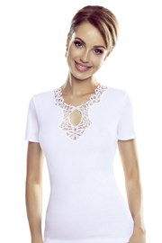 Dámske biele tričko Leila