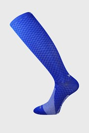 Sosete de copresie Lithe, pana sub genunchi, albastru