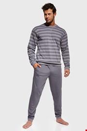 Pijama Loose, gri, model dungat