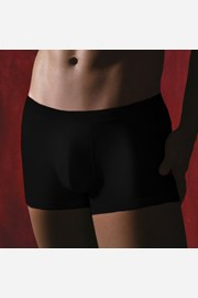 Pánske boxerky v čiernej farbe M002