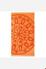 Ręcznik plażowy Mandala pomarańczowy