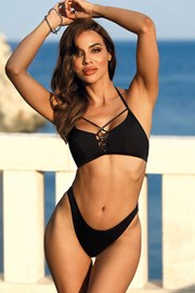 Горнище на дамски бански Marbella black