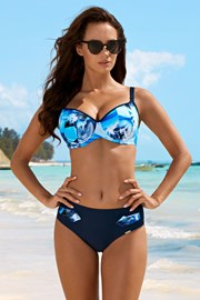 Ženski dvodijelni kupaći kostim Maya Blue