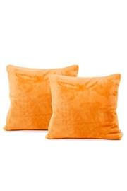 2 DB kispárna huzat, narancssárga