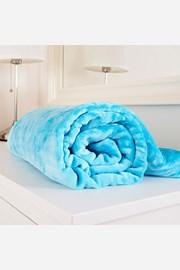 Mikroflanelová deka Exclusive tyrkysová