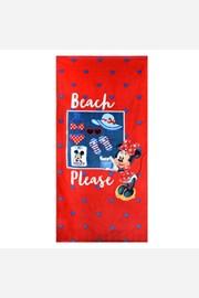Плажна кърпа за момичета Minnie