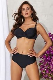 Górna część damskiego kostiumu kąpielowego Alette czarna
