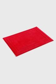 Jasmina fürdőszobai kilépő, piros
