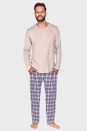 Férfi pizsama bézs Milton