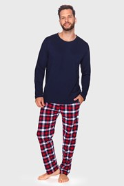 Férfi pizsama kék Milton