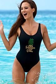 Dámske jednodielne plavky Pamela bez kostíc