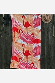 Ręcznik plażowy Flamingi