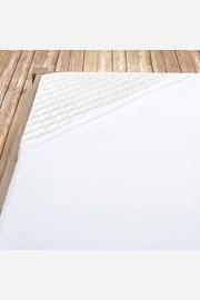 Pamutvászon lepedő fehér