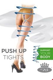 Ženske hlačne nogavice Relax s push-up učinkom