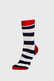Ponožky Happy Socks Stripe modro-červené