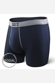 Bokserki męskie SAXX Platinum Navy Grey