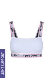 Γυναικείο λευκό crop top Reebok Krystal