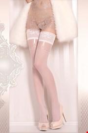 Луксозни чорапи със силиконова лента Wedding 374