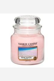 Yankee Candle sviečka Pink Sands stredná