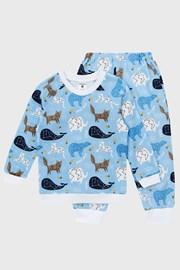 Пижама за момчета Star Blue