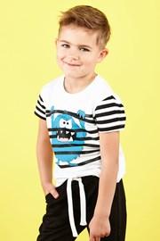 Majica kratkih rukava za dječake Monster