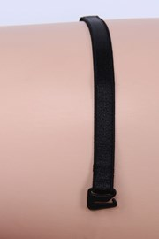 Textil vállpántok 10 mm fekete