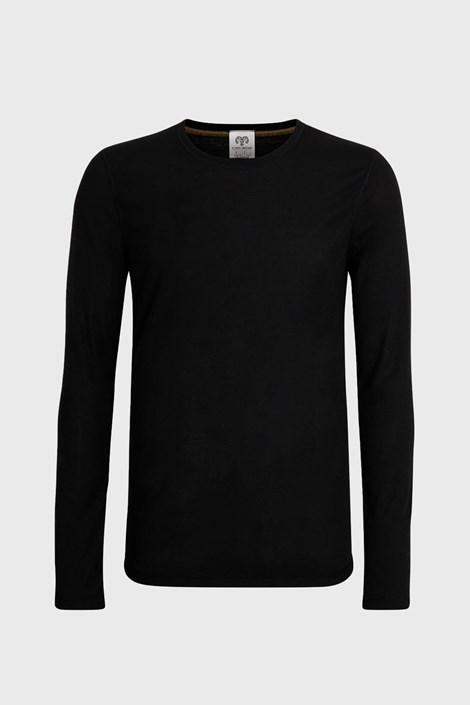 Bluza barbateasca, negru