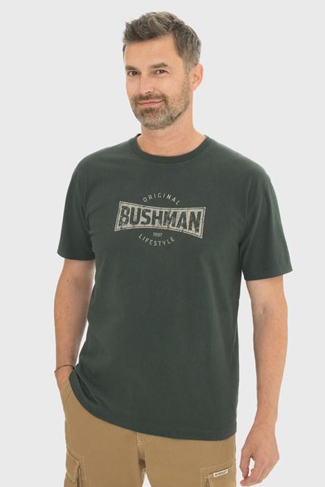 Tricou Bushman Gladwin, verde inchis