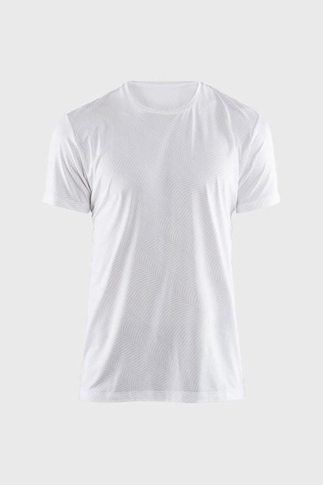 Moška majica CRAFT Essential, bela z vzorcem