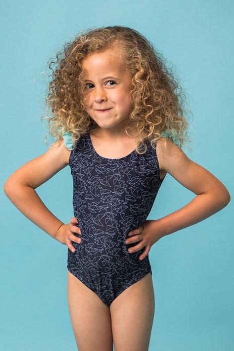 Dievčenské jednodielne plavky Rosalie