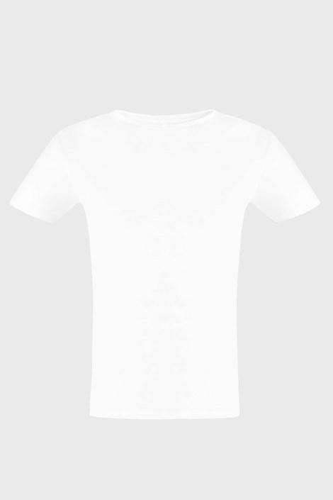 Bijela majica kratkih rukava Cotton Nature