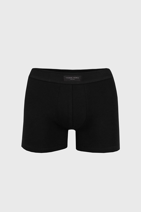 Cotton Nature férfi boxeralsó fekete színben