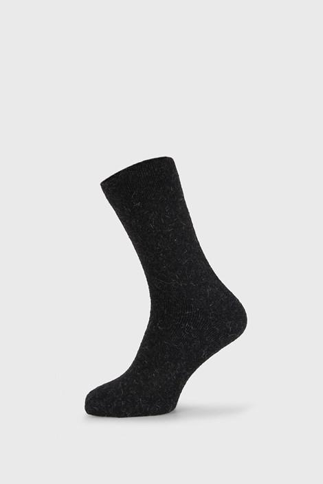 Čierne ponožky Angora