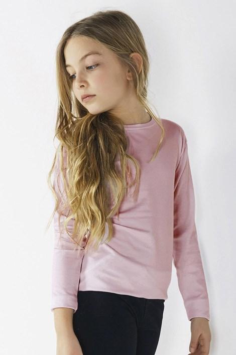 Блуза за момичета с дълъг ръкав Star