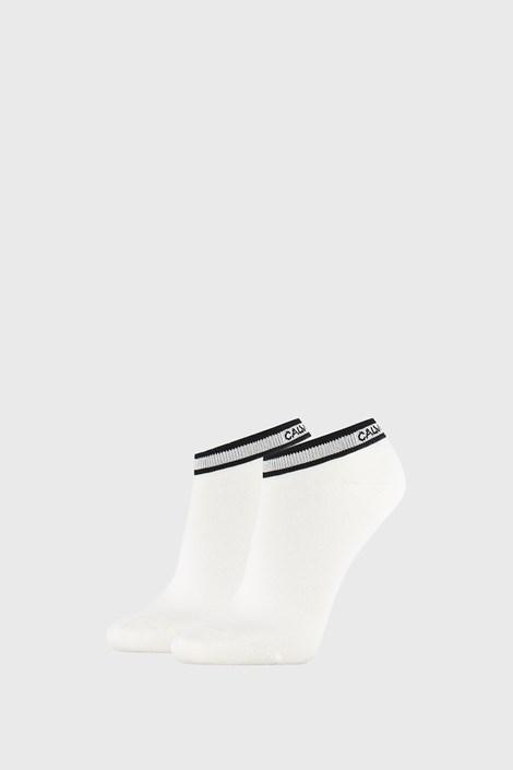 2 PACK бели дамски чорапи Calvin Klein Spencer