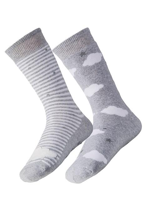 2 pack dámskych hrejivých ponožiek Cloud