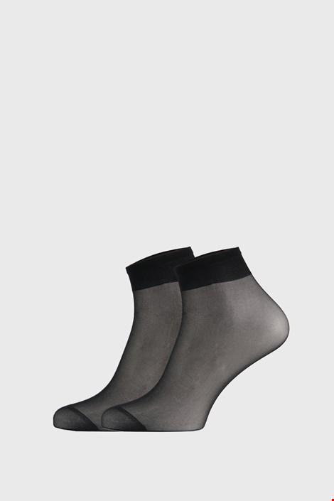 2 PACK дамски силонови чорапи до под коляното 17 DEN