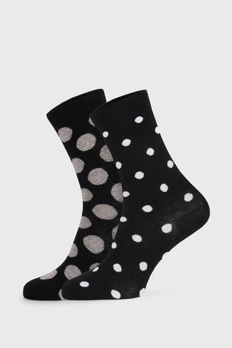 2 PACK черни дамски чорапи Long