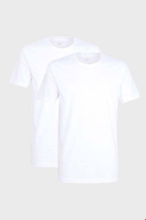 2 pack pánskych tričiek bugatti O-neck biele