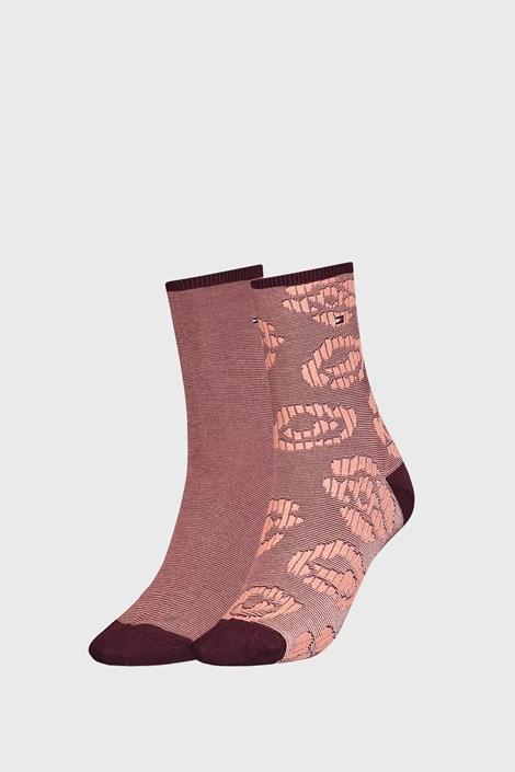 2 PACK дамски топлещи чорапи Tommy Hilfinger Flower
