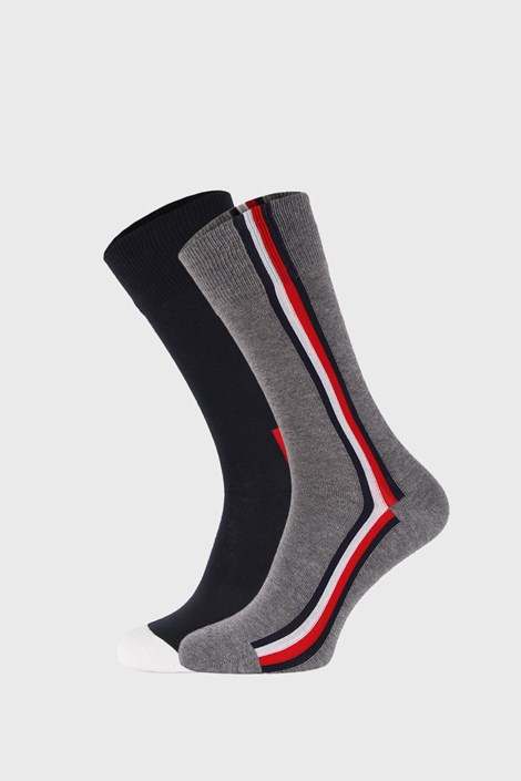 2 PACK дълги чорапи Tommy Hilfiger Iconic Hidden