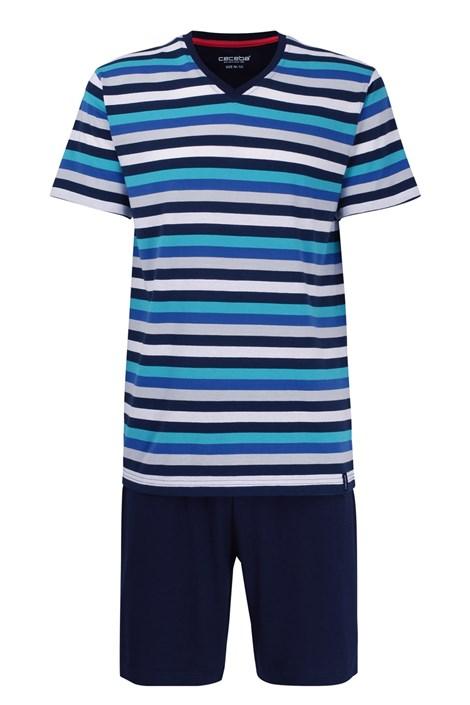 Pruhované pyžamo Aqua PLUS SIZE