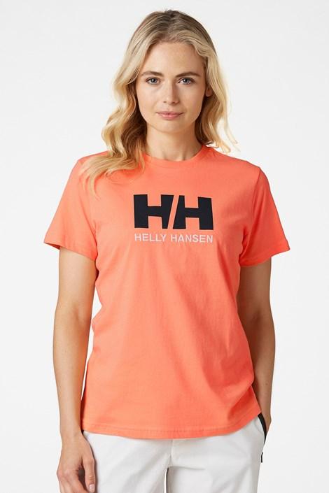 Damski pomarańczowy T-shirt Helly Hansen