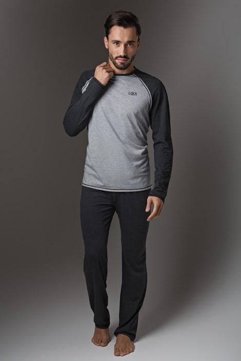 LISCA Thor Dark Grey, férfi pizsama
