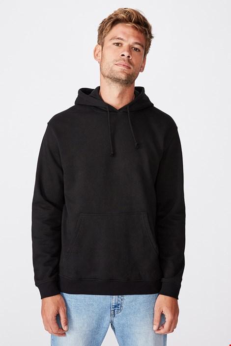 Fekete szabadidő felső Essential Fleece