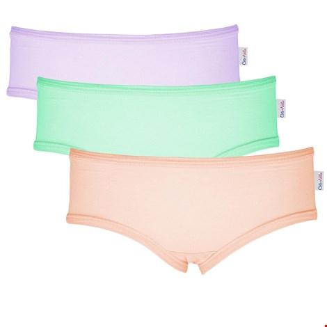 3 PACK dziewczęcych fig Colour