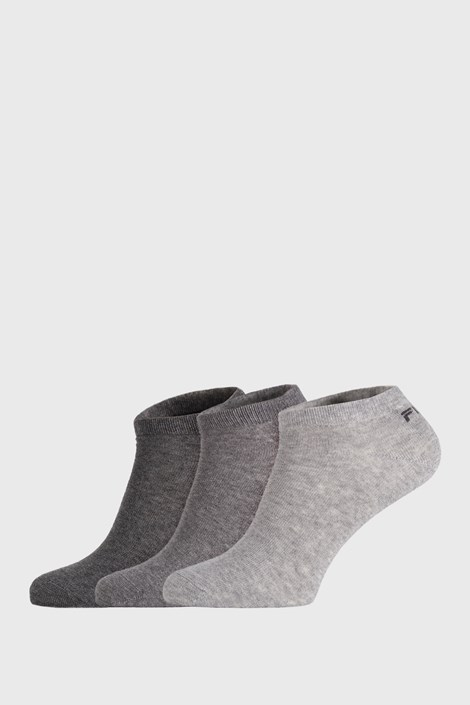 3 PACK чорапи FILA Invisible Mistygrey
